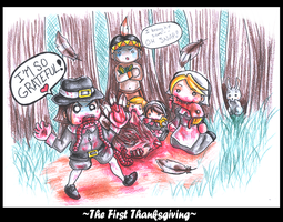 The First Thanksgiving by Miina-san