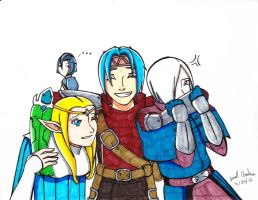 Dragon Nest Family by 123arcalas