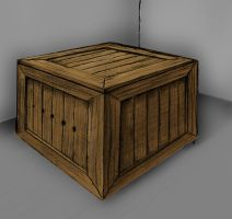 Crate Painted by ursus327