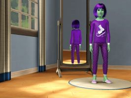 Sims 3 Equestria Girls - Young Sunny Flare pic 3 by Magic-Kristina-KW