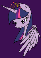 Princess Twilight Sparkle by Ariah101