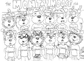 The Monty Moose Club by Artytoons