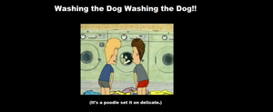 WASHING THE DOG!! by Smurfette123