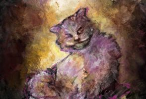cheshire cat _ texture study by quirill