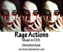 Rage Actions by sd-stock