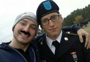 My big day and Brother big mustache by RedCast15