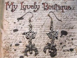 Flying Bats by TheLovelyBoutique