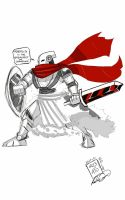 KNIGHT of the Red Metal by Robato