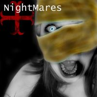 Front cd cover.. Nightmares by helly7307