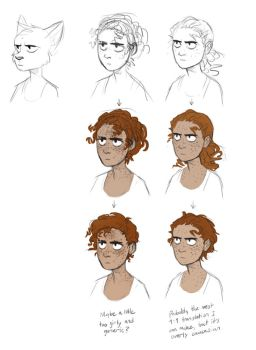 Human Maddie ideas by TheScatterbrain