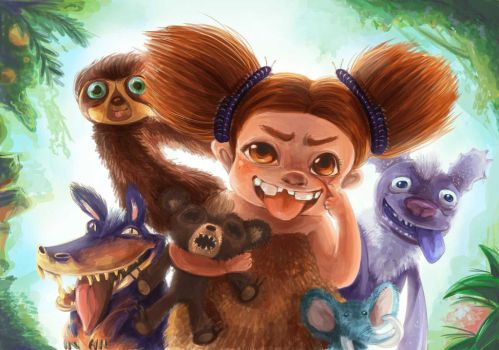 The Croods by stawwi
