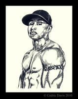 LL Cool J:RESPECT- Pointilism by PrinceDamian92