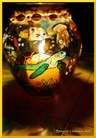 Sea Turtle Candle Holder by Bonniemarie