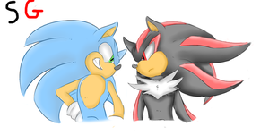 shadow and sonic by shadow--g