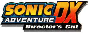 Sonic Adventure DX: Director's Cut logo by RingoStarr39