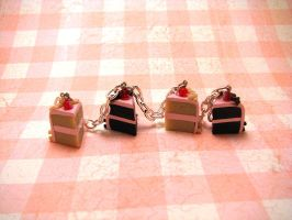 Pink Icing Bracelet by Miss-Millificent