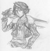 Squall Leonhart by wtfisalinh