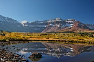 The Pond in Upper Henry Fork by mjohanson
