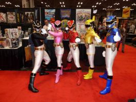 Power Rangers Megaforce by nx20