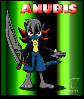 Anubis the Lucario :Gift: by tsukichire