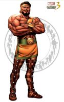 Hercules - Marvel vs Capcom 3 by AverageSam