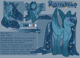 Raindrop Reference by CreepyCoon
