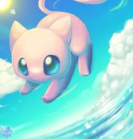 ocean Mew by Pand-ASS