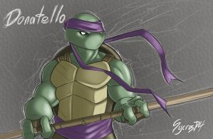 Turtle Time - Donny by SycrosD4