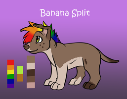 Banana Split by starbuttscoffee