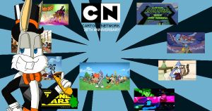 Happy Birthday Cartoon network (20th anniversary) by FelixToonimeFanX360