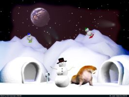 Merry Christmas 2005 by rlcwallpapers