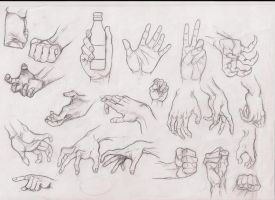 hands studies 5 by ultraseven81