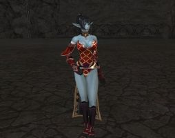 Lineage 2 Dark Elf female by Brownfinger