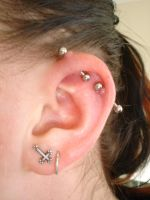 Industrial Piercing 2 by InToXiCaTeD-MiNd