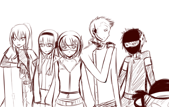 Special Unit Sketch by koreanGartist1234