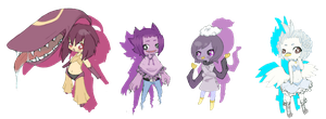 Possable pokecrossing - rr ocs by Delliria-Gruesome