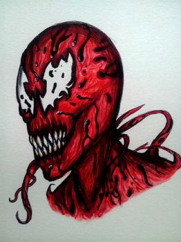 Carnage sketch by RavenousEFX