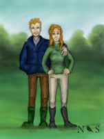 Shane and Emma by NightingaleStables