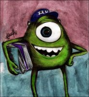 Mike Wazowski by marvincastillo