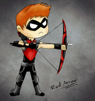 .The red archer. by xMashykax