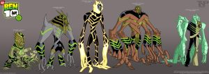 BEN 10: DNA Lab Hybrids 1..... by tnperkins