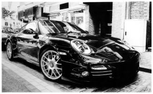 Porsche 911 Turbo by drtikoza