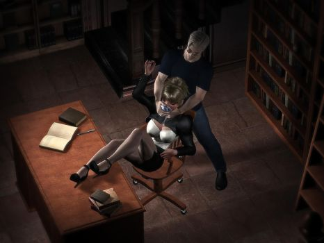 Late in the library - Dolly is put to sleep by MollyFootman