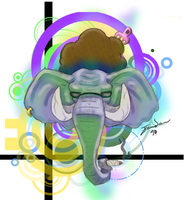 .:Elephant Tat:. by Songficcer