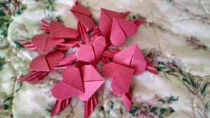 Origami - Winged Hearts [3] by ShittyChan