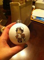 Greece-Hetalia Christmas ornament by DisruptiveDiva