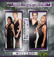 +Photopack png de Nicki y Miley. by MarEditions1