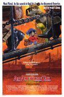 An American Tail Over the Hedge poster by dudiho