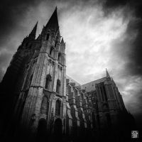 Cathedral of Chartres by sylvaincollet