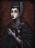 Evil Queen by LaTaupinette